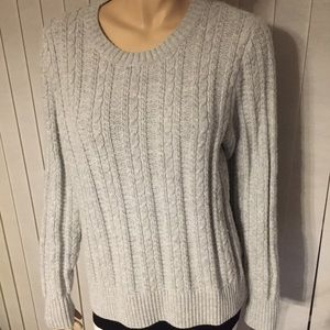 J.Crew grey sweater size XL